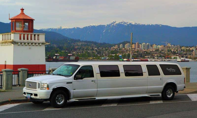 Limo Vancouver transportation in June